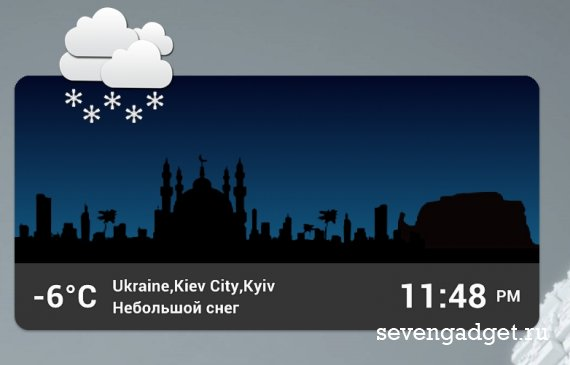 World Cities Widget